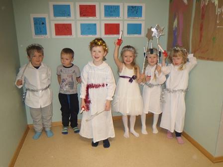Luciafeiring i Straumen barnehage