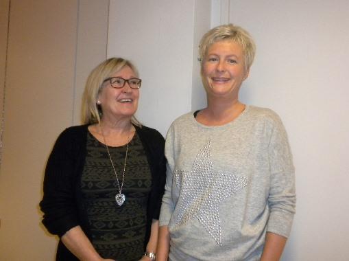 F.v. Laila Furre og Siv Helskog