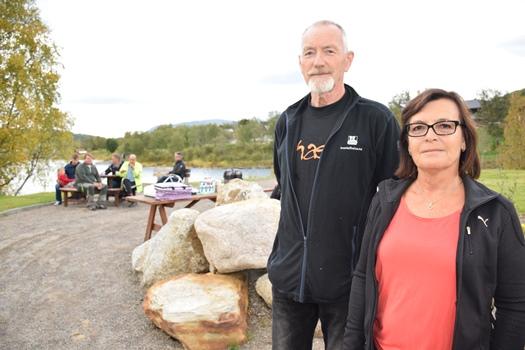 Zoy Lillegård og Leif Strømdal