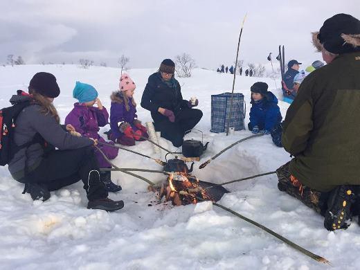Friluftsfestival på Strøksnes