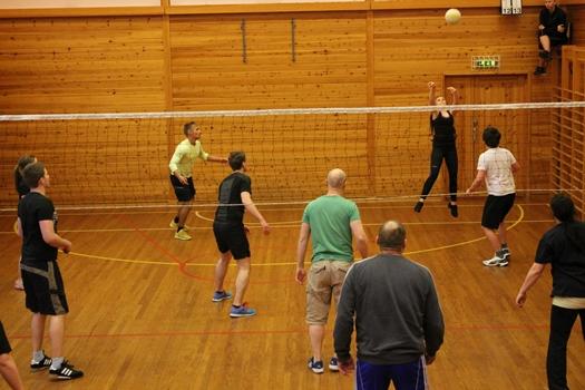 Volleyballtrunering i Leifjorden