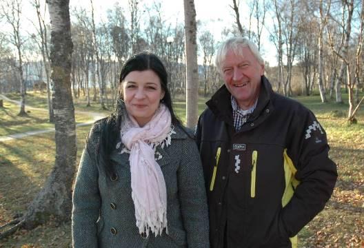 Eirin Edvardsen og Odd Birkelund