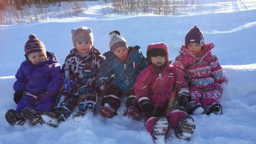 Barn i Løkta barnehage