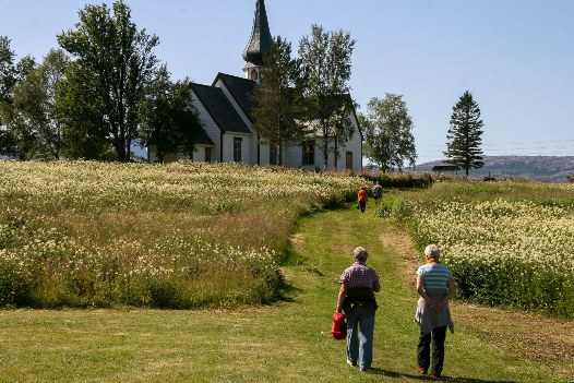 Kirkesøndag på Rørstad