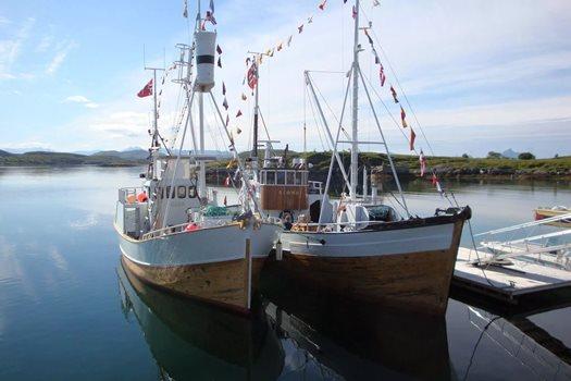 Veteranbåtene Blomøy og Bolga