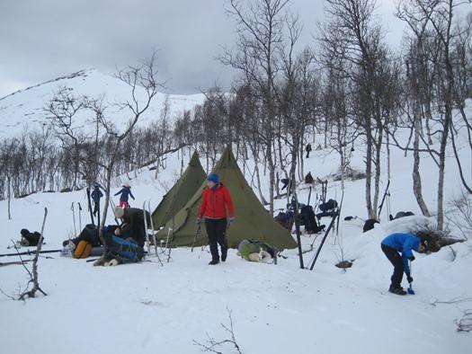 Campen er klar
