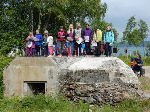 Arrangement i Røsvik kystfort
