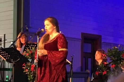 Siv Oda Hagerupsen og musikere