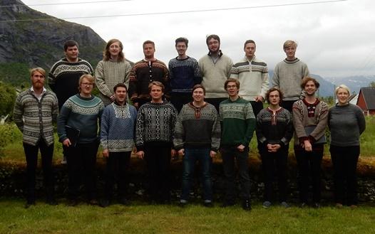 Nordnorsk ungdomsmannskor på Rørstad