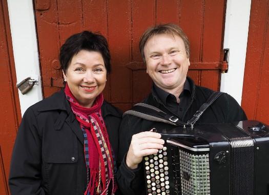 Elisabeth Misvær og Andrej Stepanov