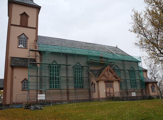 Røsvik kirke renoveres