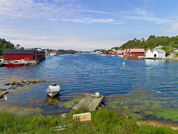 Hellvik havn