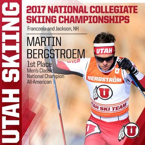 NCAA Champion - Martin Bergström.