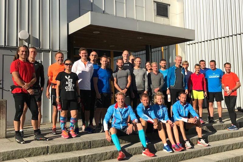 Optima Ski startade en träningsgrupp i Stockholm i fjol och nu fortsätter man i år. FOTO: Optima Ski.