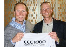 CCC1000:s grundare Fredrik Erixon och Per Lenndin CCC1000 Norr. FOTO: CCC1000.