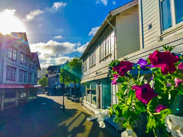 Egersund sentrum og gågate