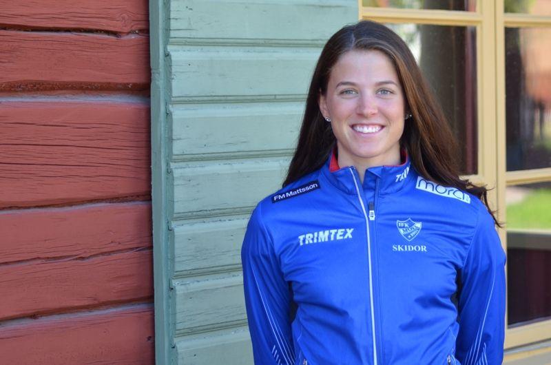 Anna Dyvik lämnar Falun Borlänge SK inför OS-vinterns och går till en annan dalaklubb - IFK Mora SK. FOTO: IFK Mora SK.