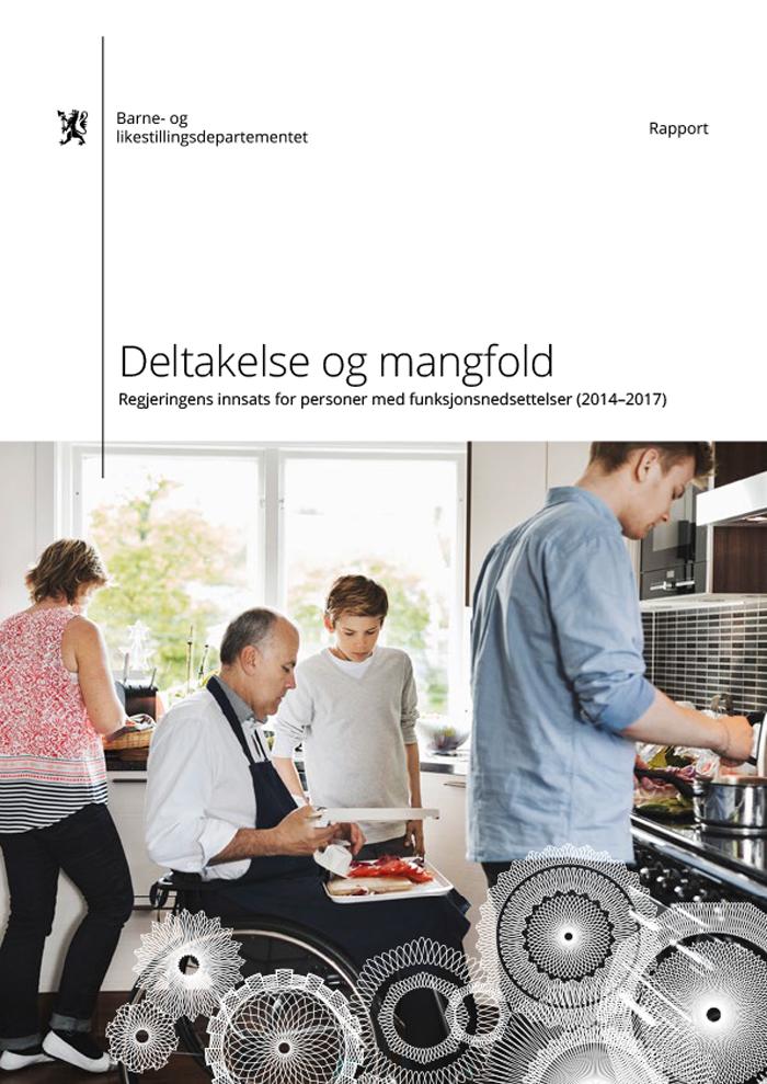 Rapport: Deltakelse og mangfold – regjeringens innsats for personer med funksjonsnedsettelser