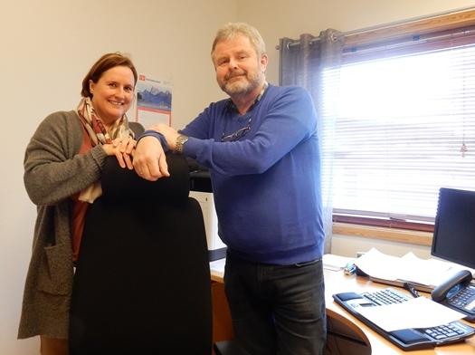 Lisbeth Bernhardsen og Kjell Eilertsen