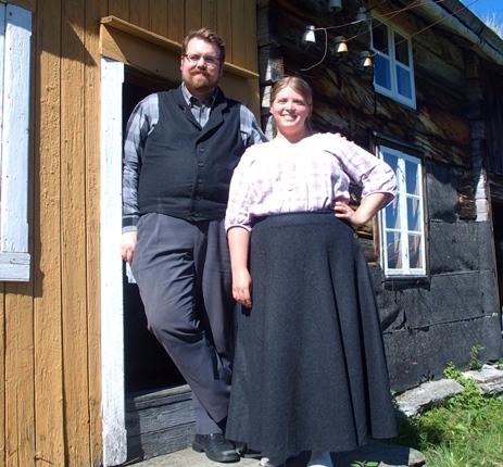 Kine og Stian i Kjelvika