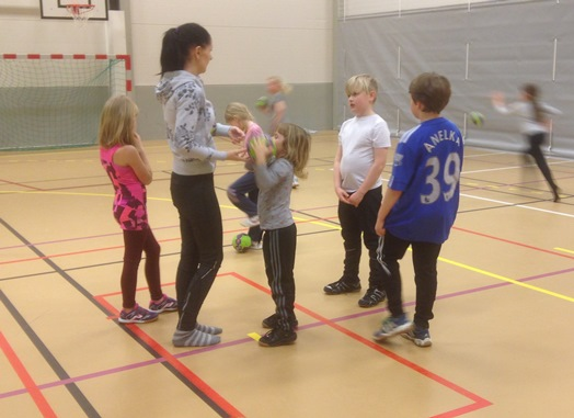 Håndball med Silje Alfheim