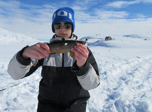 Jesper fikk fisk