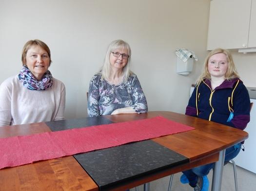 F.v. Evelyn Pettersen, Anne Pettersen og Bente Albrigtsen