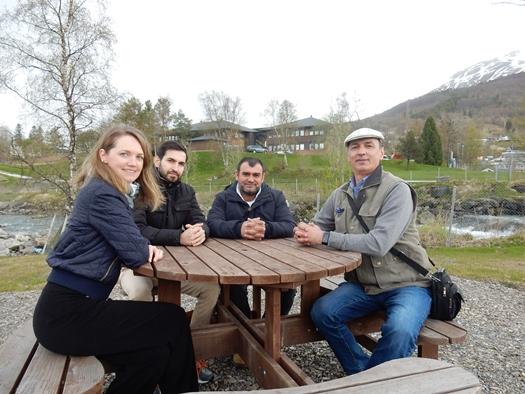 Velkommen til språkkafé i Lakseparken