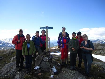 På toppen av Reinhausen, foto Terese Eliassen