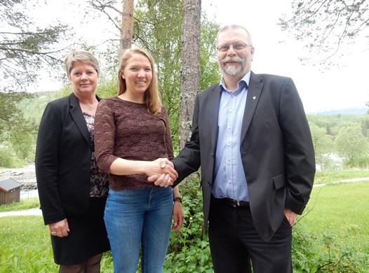 F.v. Turid Willumstad, Mari Hulleberg og Lars Evjenth