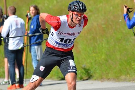 Karl-Johan Westberg på väg ifatt tätduon Svanebo/Norum. FOTO: Rolf Zetterberg.