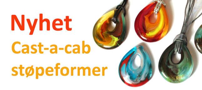 Cast-a-cab støpeformer