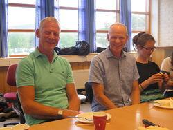 Anders Ripe, Nils Helgheim og Gunhild Daling Korsøen