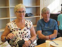 Hilde Bjørkum og Per Vassbotn