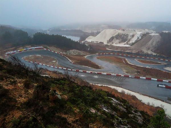motorsportsenter på Gjermestad Hellvik
