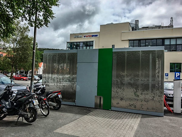 Sykkelparkeringshus
