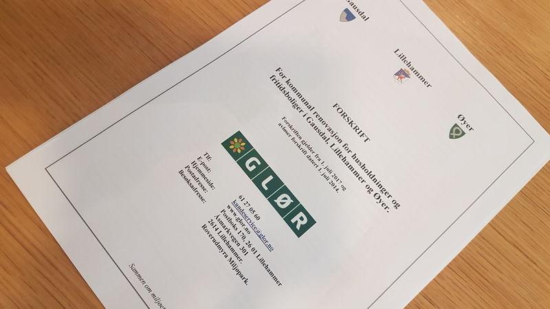 Bilde av dokumentet forskrift for kommunal renovasjon