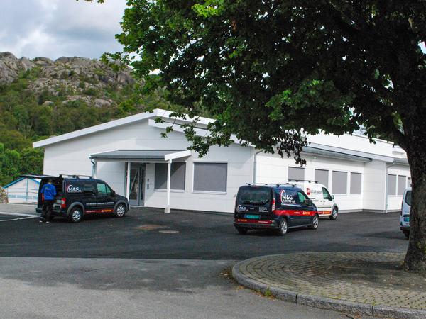 P-bygget på Lagård ungdomsskole