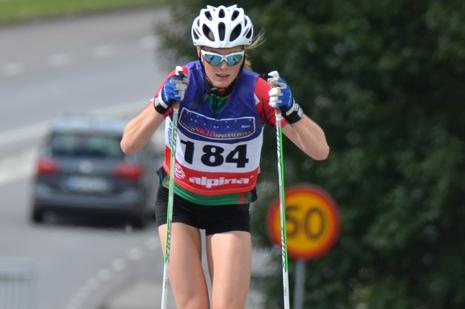 Hanna Abrahamsson vann klart i D 17-20. FOTO: Rolf Zetterberg.