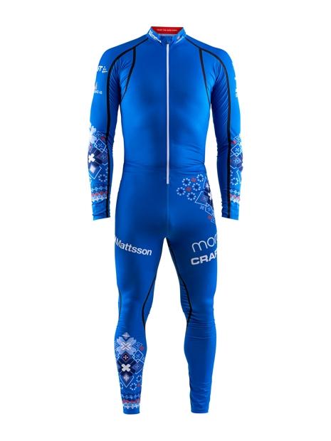 Så här kommer IFK Mora SK:s åkare se ut i spåren i vinter. FOTO: Craft Sportswear.
