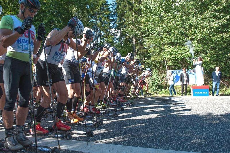 Starten på Kongevejsløbet 2016. På söndag är det dags igen och loppet är seedningsgrundande till Vasaloppet. FOTO: Bent Hjarbo.