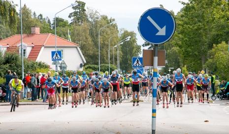 Starten på Nybrorullen. FOTO: Jan Arvidsson.