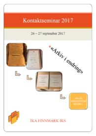 Kontaktseminar 2017