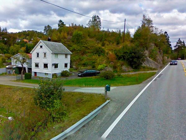 Utkjørsel på Skjerpe
