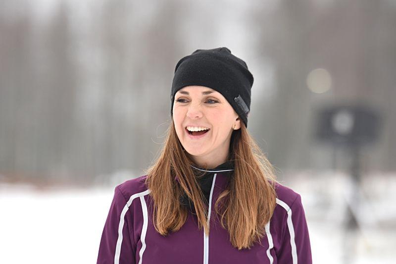 Johanna Ojala blir som vanligt en av experterna i Vinterstudion som drar igång i samband med svenska längdpremiären i Gällivare 18-19 november. FOTO: Rolf Zetterberg.