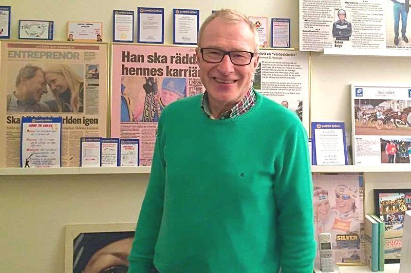 Stig Wiklund, bland annat känd som Johan Olssons mentala rådgivare, gästade sista avsnittet av Diabetespodden. FOTO: Diabetespodden.