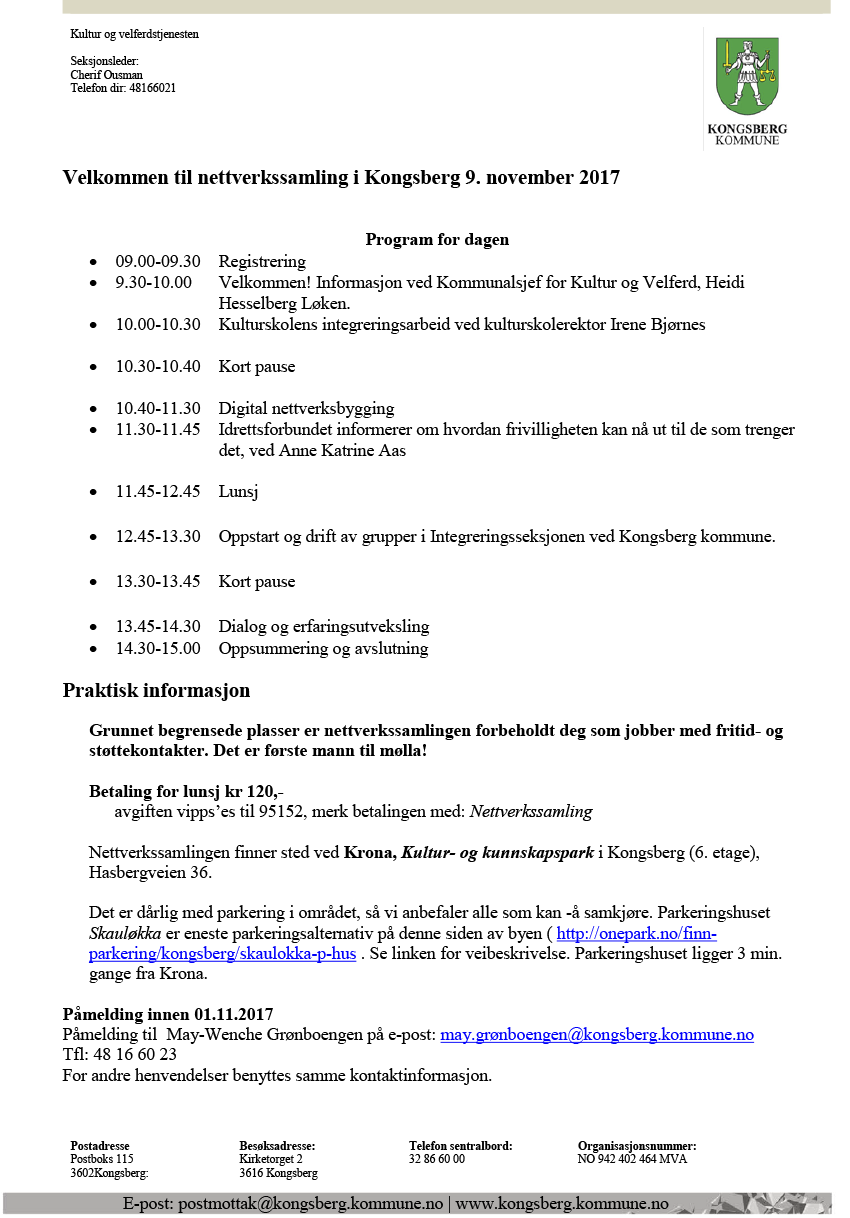 Program nettverkssamling