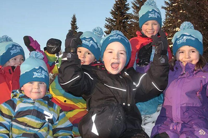Svenska skidförbundet är involverade i ett nytt projekt som ska få fler barn i rörelse. FOTO: Johan Hyllienmark.
