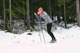 Erik Wickström pratar om stakning för motionärer i senaste avsnittet av Vasaloppet Lagom. FOTO: Luca Mara.