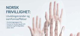 Ingressbilde til Rapport om norsk frivillighet - Utviklingstrender og samfunnseffekter